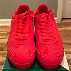 *Brand new Puma red sneakers